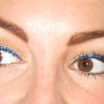 Wearable Electric Blue Eyeliner