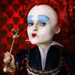 Wearable Blue Eyes Like Alice In Wonderland's Red Queen