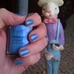 Easter Bunny Blue Nailpolish