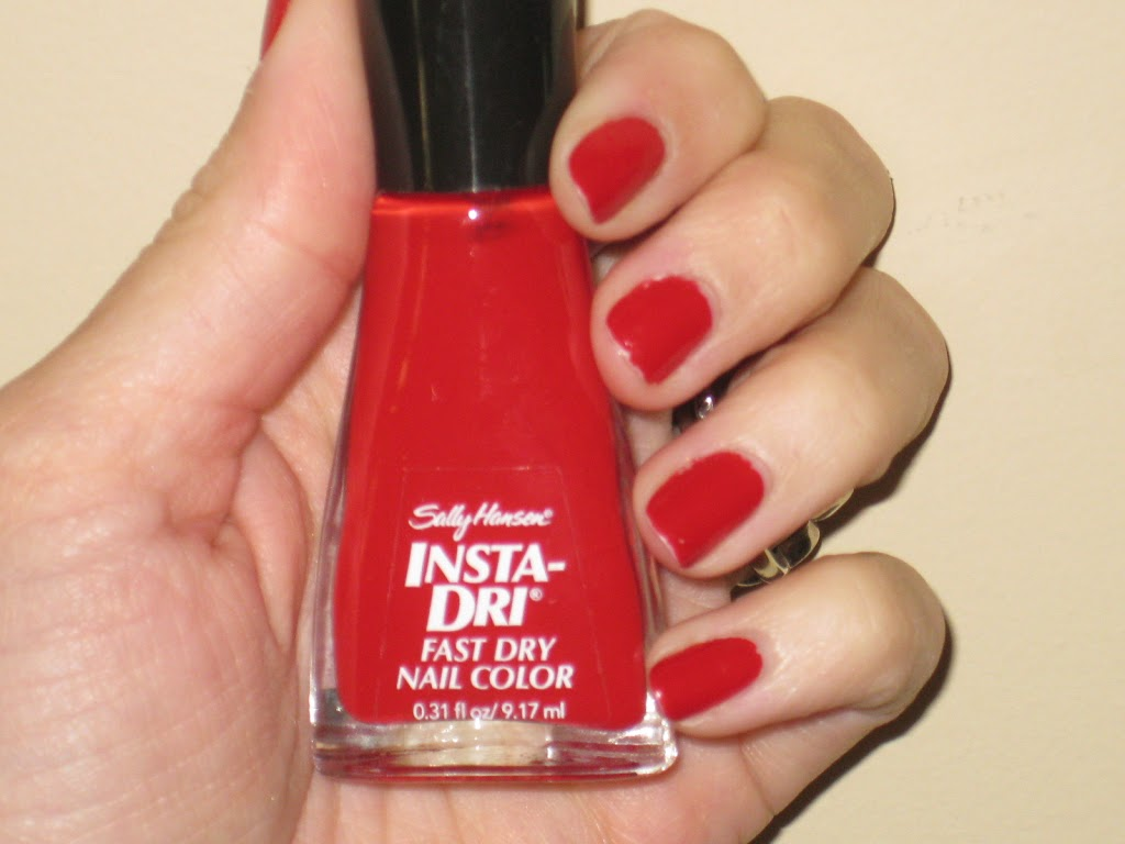 JennySue Makeup Product Review :: Sally Hansen Insta-Dri Nailpolish ...