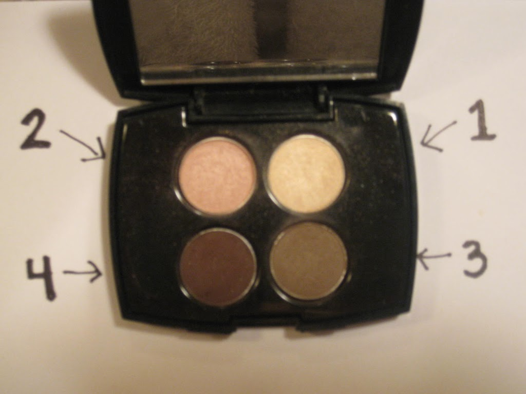 How To Use An Eyeshadow Quad