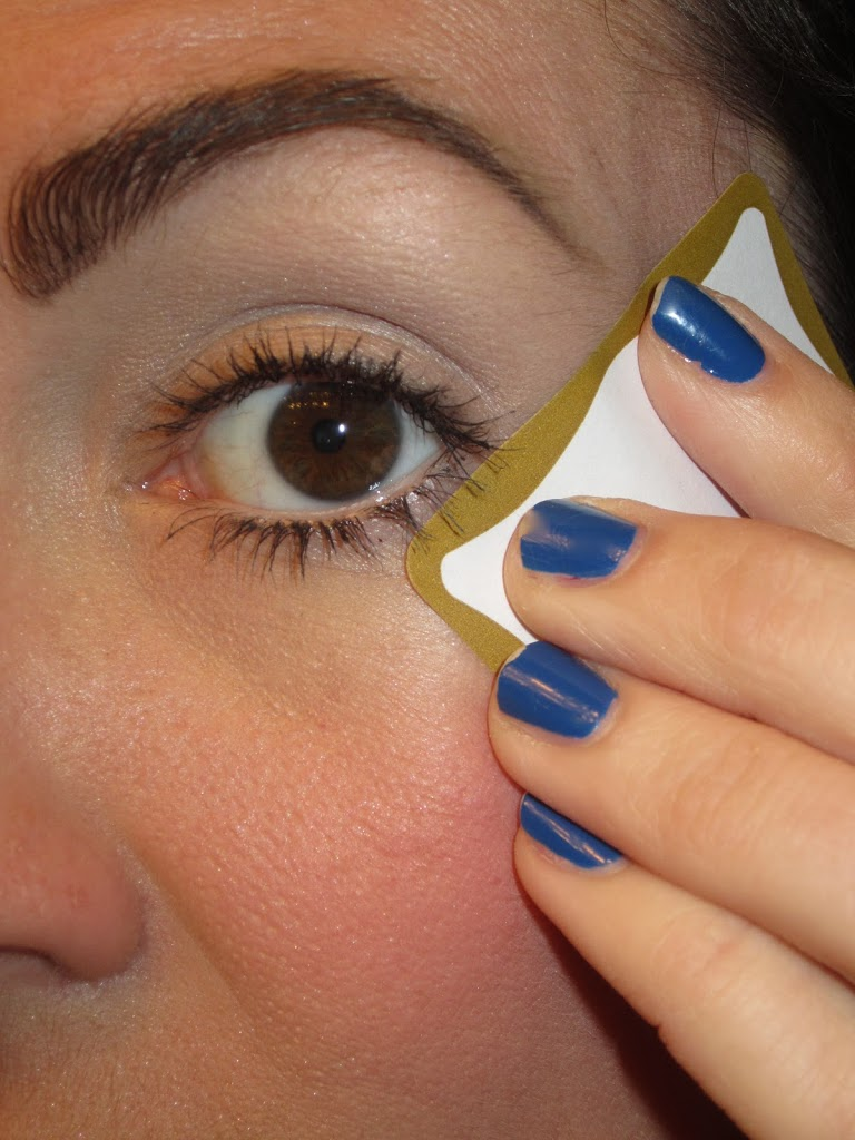 The Magic Eye Shadow Tape Trick