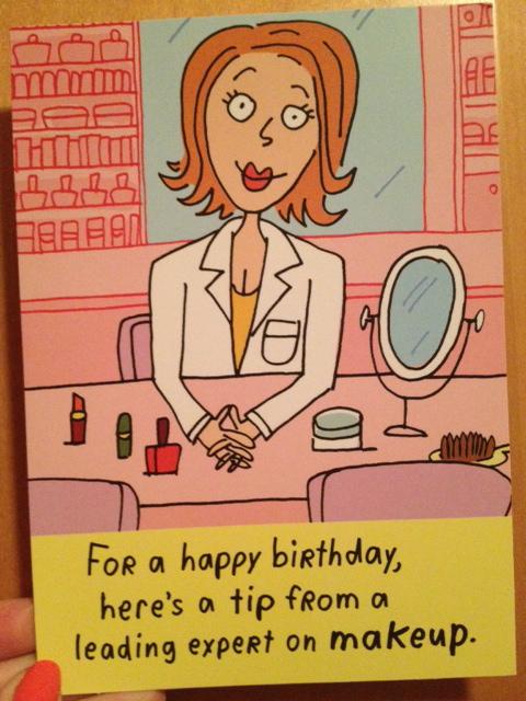 Birthday Humor Jennysue Makeup