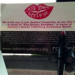 Fight Human Trafficking One Lipstick At A Time With Radiant Cosmetics