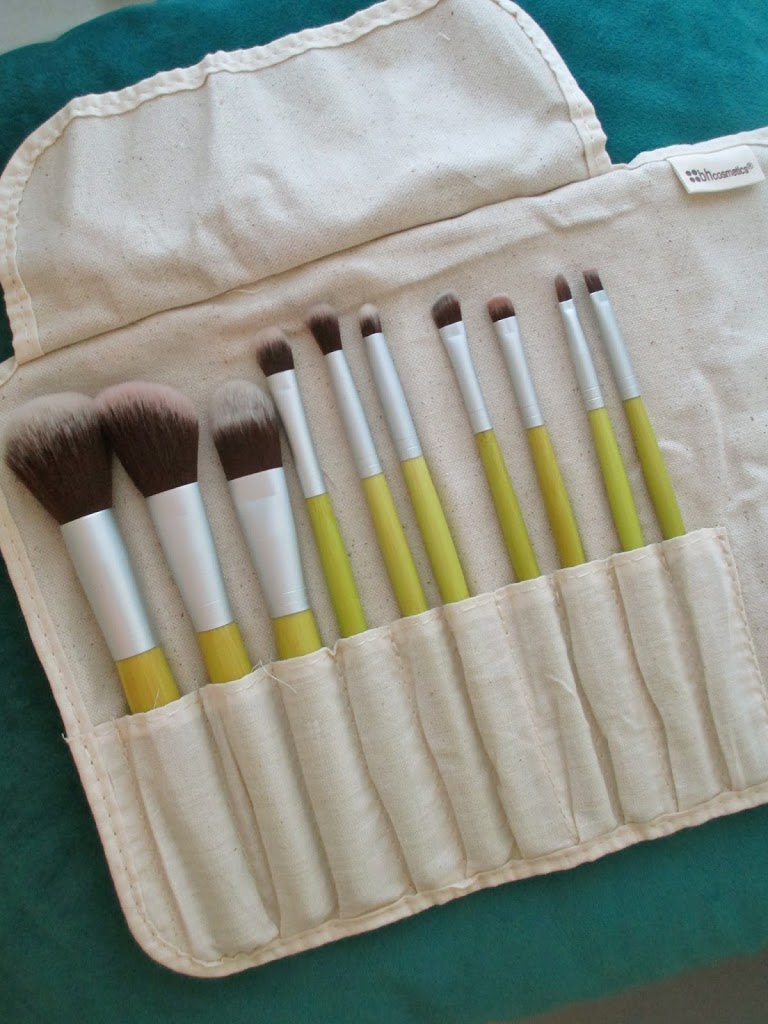 Product Review : BH Cosmetics 10 Piece Eco Brush Set