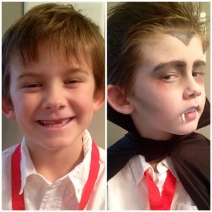 Halloween Makeup For Kids Boy.Little Monsters Easy Kids Halloween Makeup Ideas