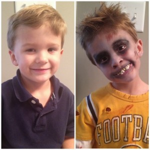 Halloween Makeup Ideas For Kids.Little Monsters Easy Kids Halloween Makeup Ideas