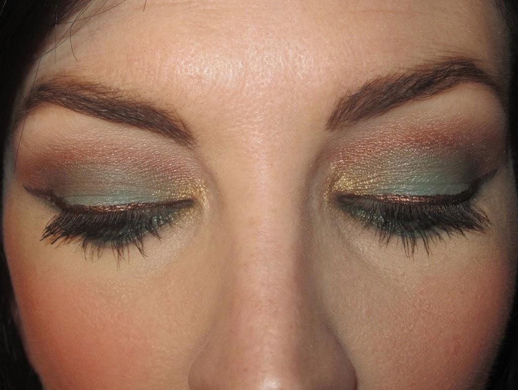 Technicolor Turkey Day Jennysue Makeup