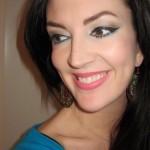 Matte And Shimmer Makeup Balance