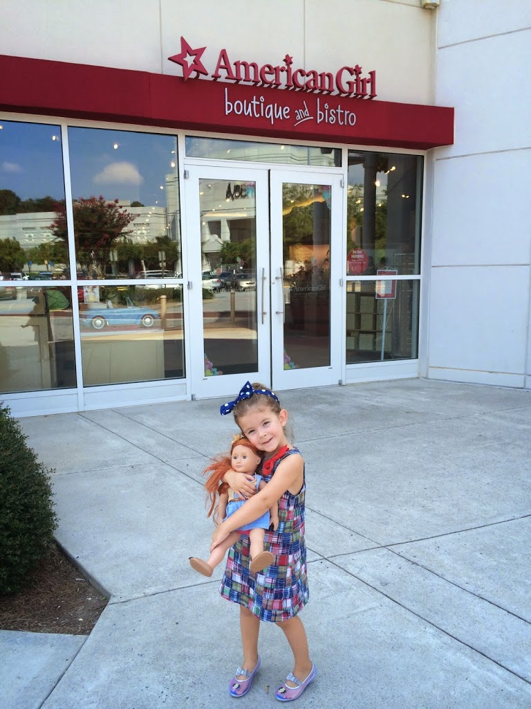 Mommy Daughter Fun At American Girl Doll Boutique Amp Bistro