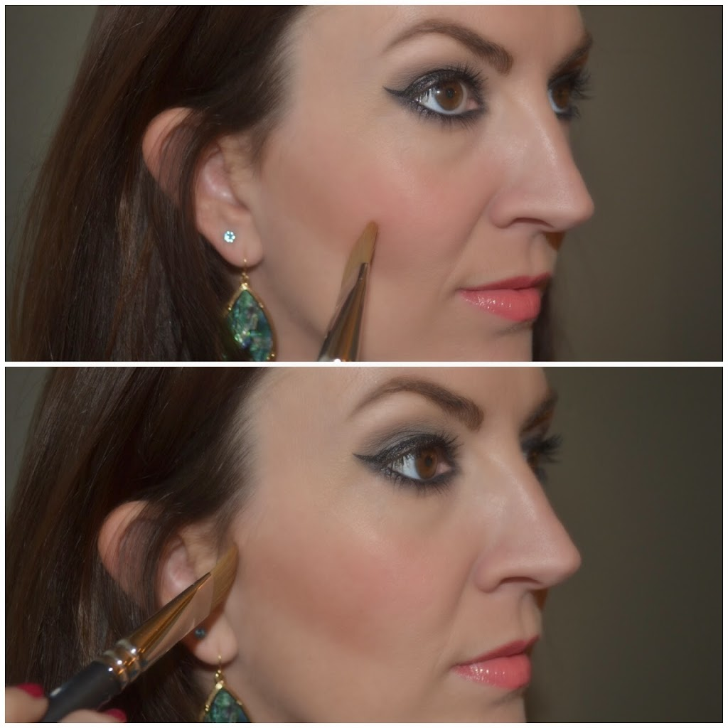 how to contour with Charlotte Tilbury Filmstar bronze & glow duo
