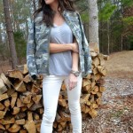 How To Make Camouflage Look Feminine Chic