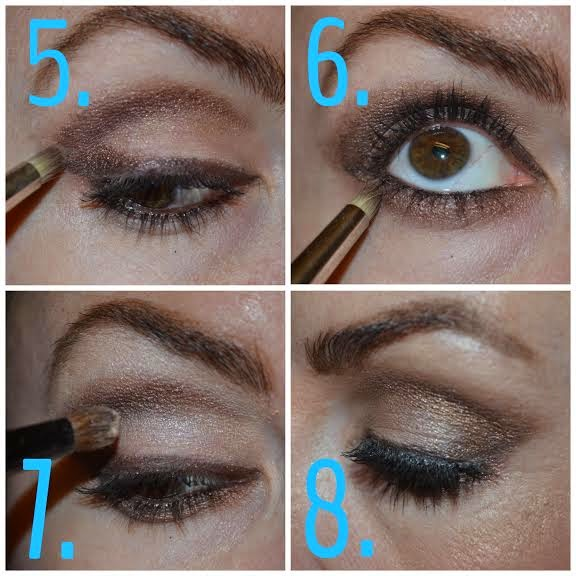 how to create a soft cut crease look