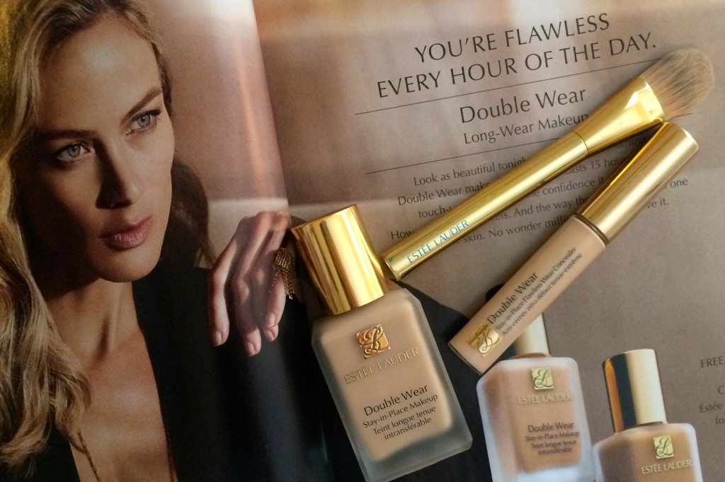 Estee Lauder double wear  long lasting foundation