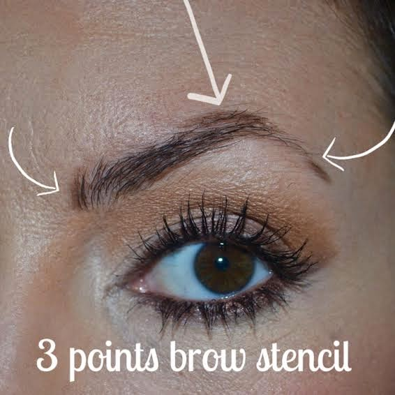 how to fill in an eye brow