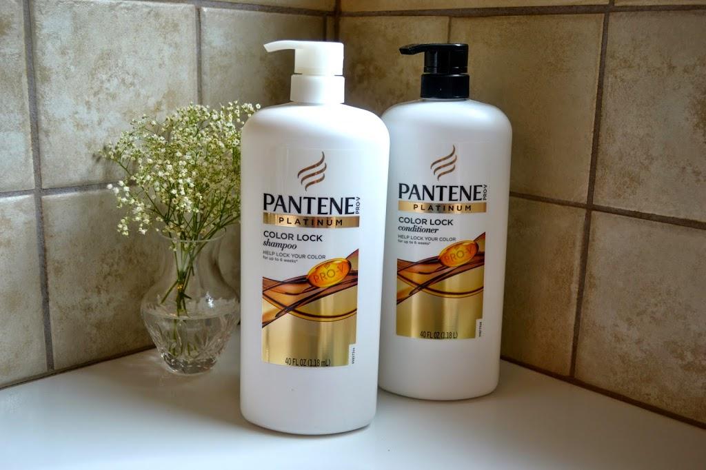 Pantene Platinum Color Lock shampoo & conditioner review