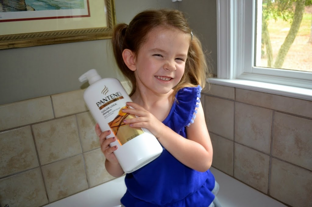 review of Pantene Color Lock shampoo