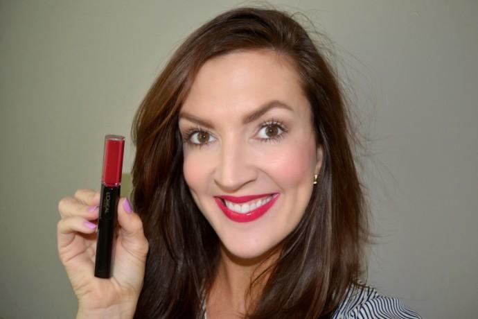 """L'Oreal Infallible Pro Last Longwear lip color in """"Mesmerizing Merlot"""""""