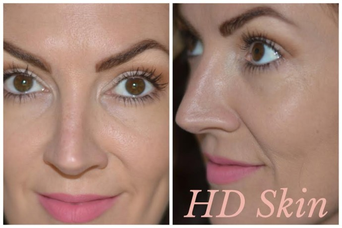 HD like skin with Make Up For Ever foundation