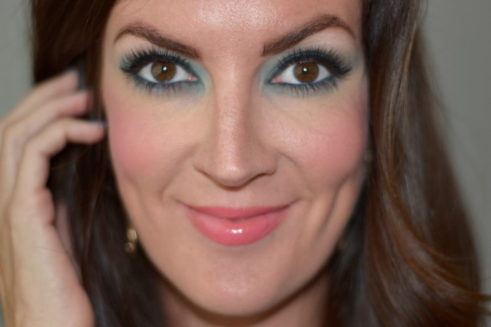 how to wear green eyeshadow for summer
