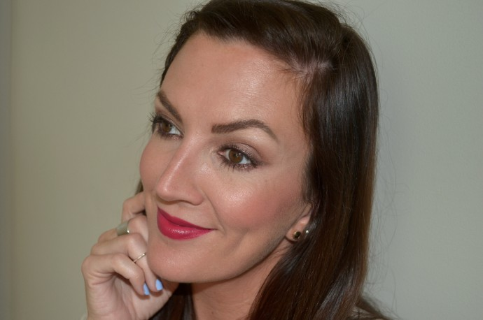 berry colored lip trend for summer with Too Faced Melted Berry Melted liquified lipstick