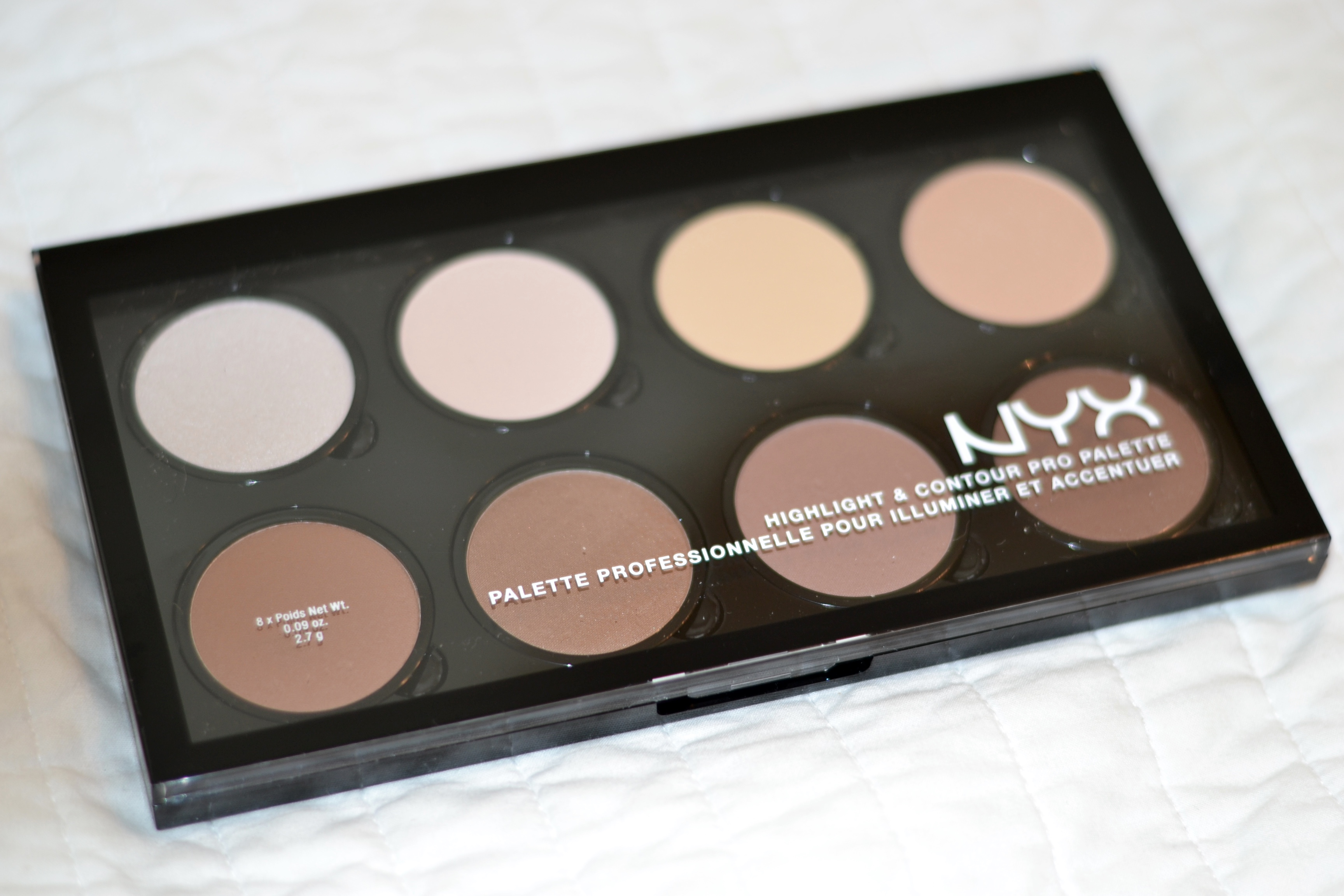 NYX - the best cheap contouring face palette on the market