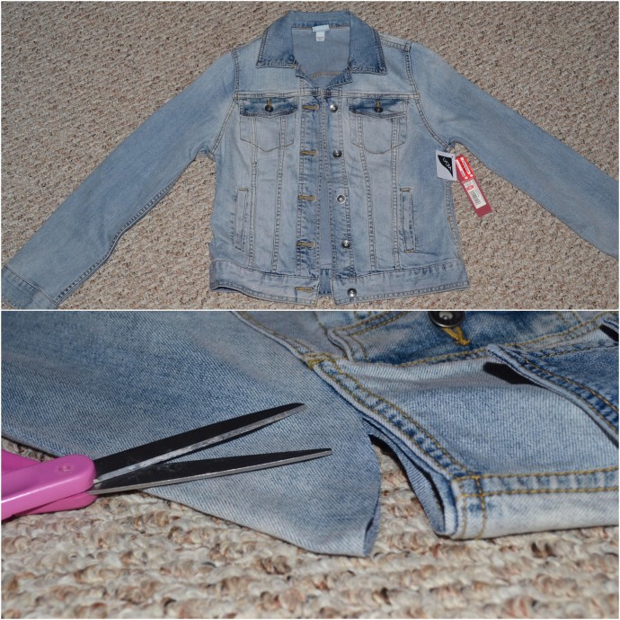 how to make a denim vest for cheap