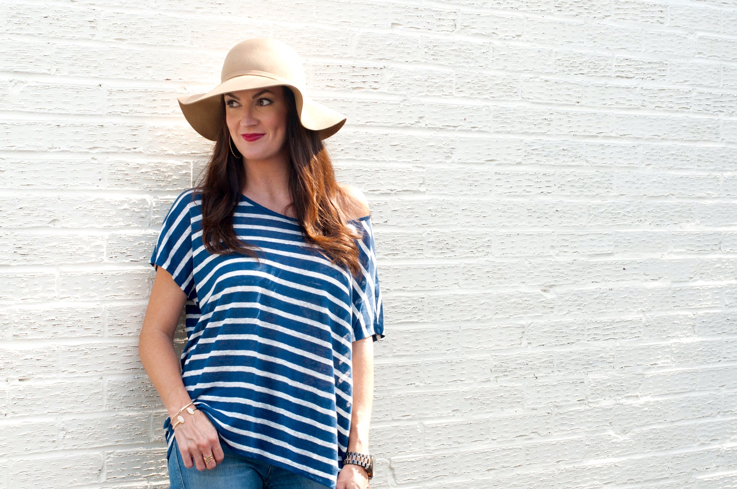 3 Tips For Pulling Off Your Nautical Striped Top Into Fall