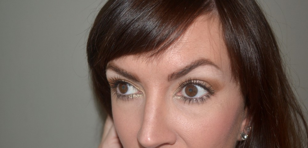 The Midas Makeup Touch : How To Wear Gold Eyeliner Tutorial