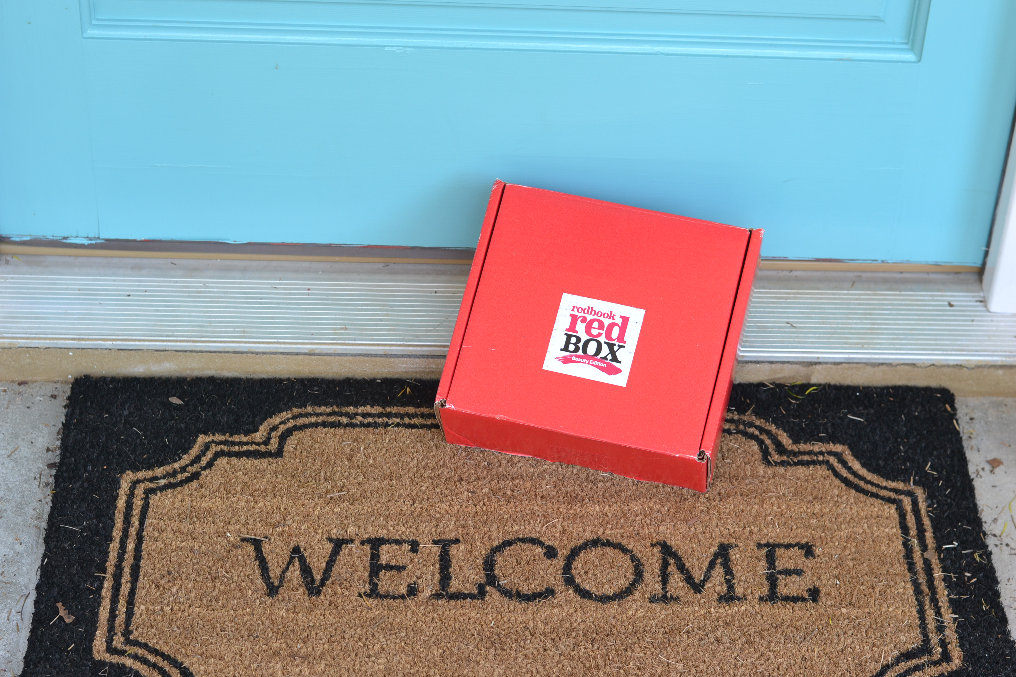 Look What's Inside The Redbook Red Box Beauty Edition