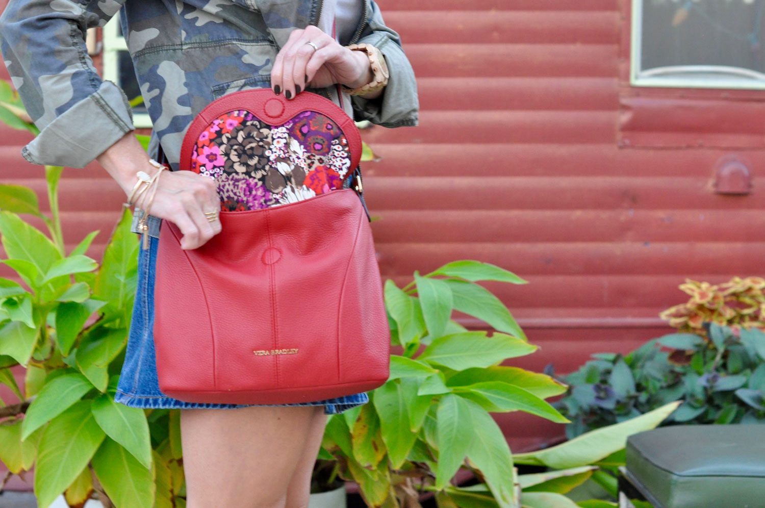 How To Style A Vera Bradley Meredith Crossbody Bag