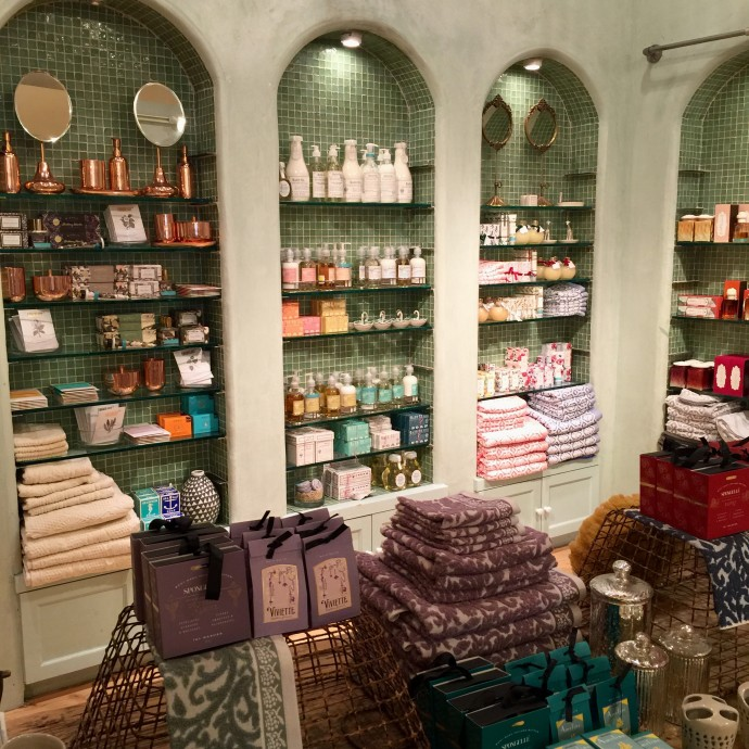 anthropologie bath gifts