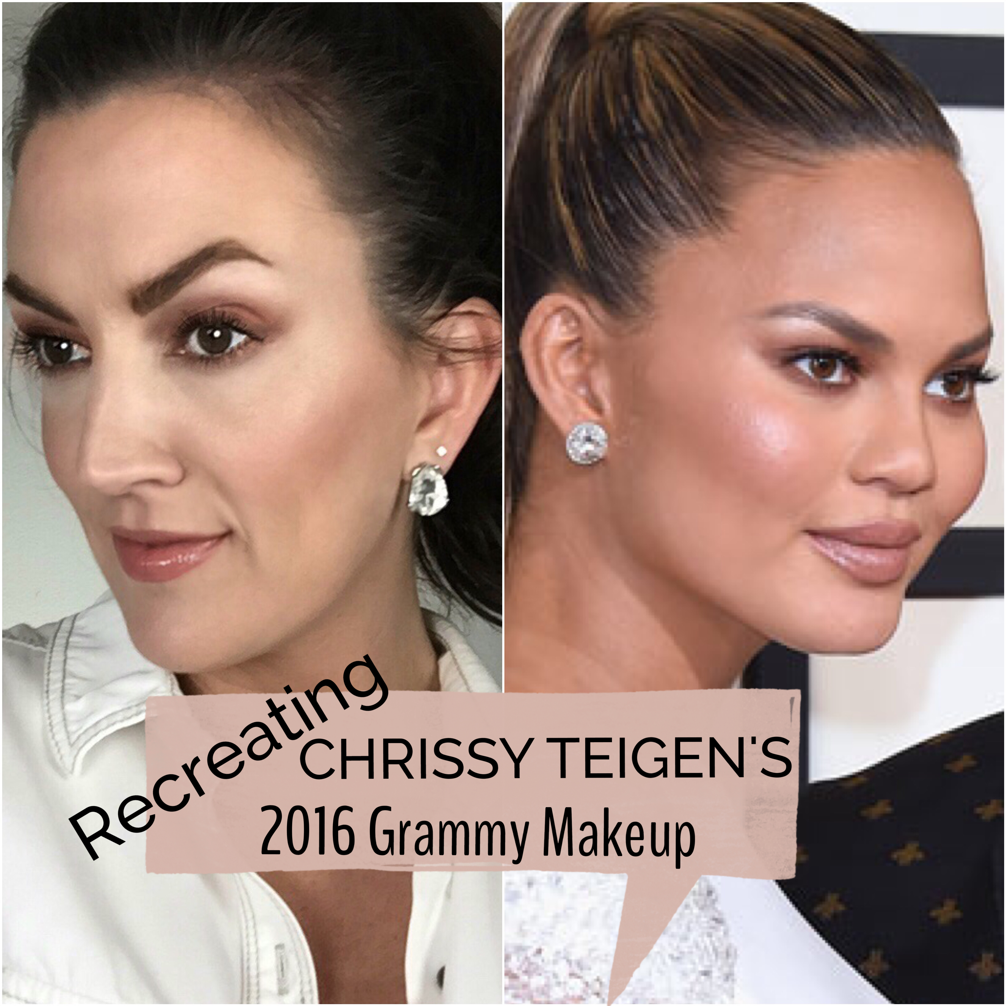 #JSMminute Ep. 006 | How To Recreate Chrissy Teigen's Makeup From 2016 Grammys