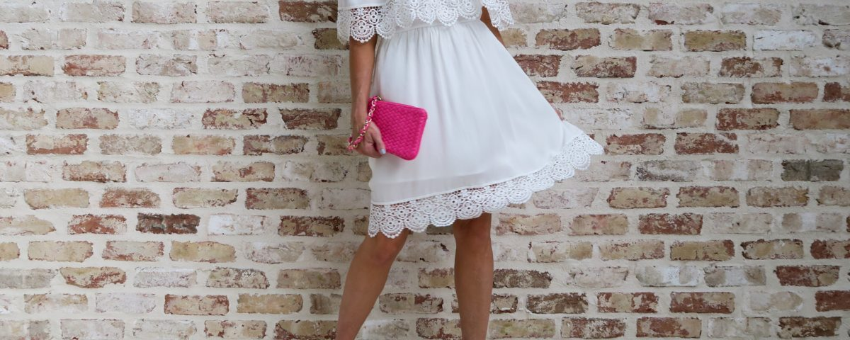 The Little White Summer Dress