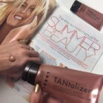 2 Summer Beauty Trends To Try Now : Bronze Glowing Skin + Hot Red Lips