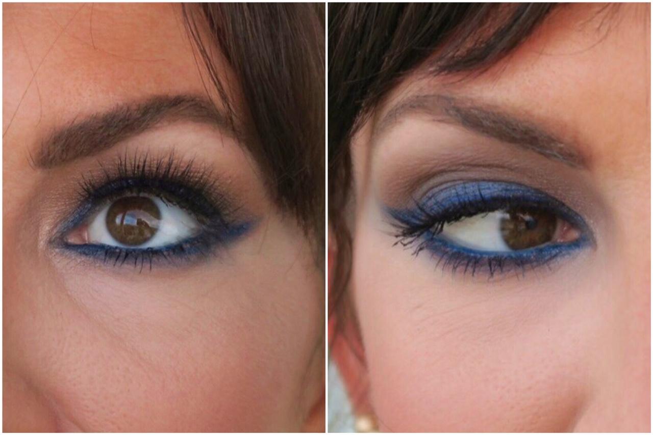 dramatic deep blue eye makeup inspiration jennysue makeup