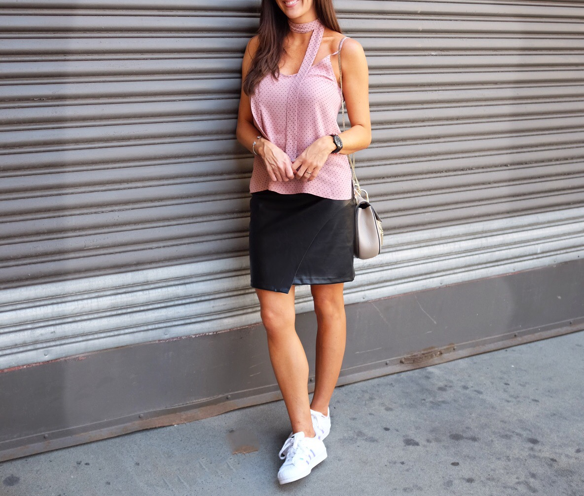 blush_pink_leather_skirt_adidas_superstars