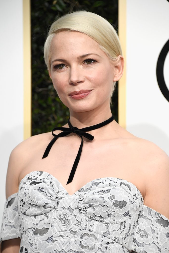 Michelle-Williams-Golden-Globes-Makeup-2017-simple