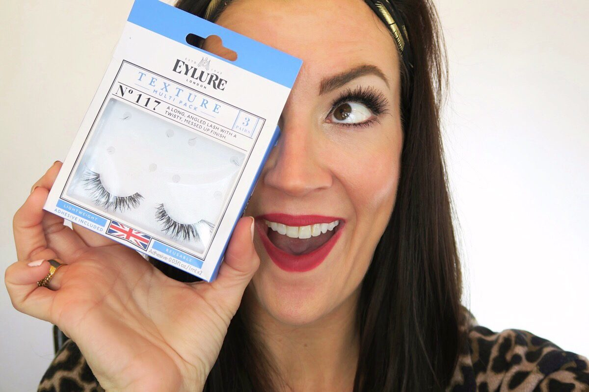 realistic false lash strips by Eylure style 117 R