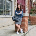 Sweater Dress And Sneakers : A Winning Winter Wardrobe Combination