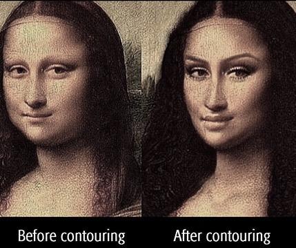 mona lisa contour meme - JennySue Makeup