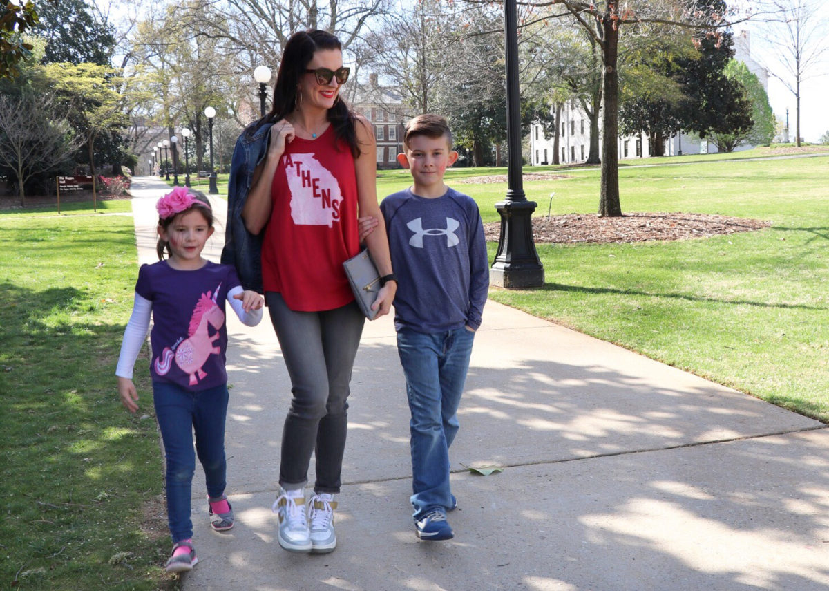 #momstyle wardrobe essentials athens ga blogger