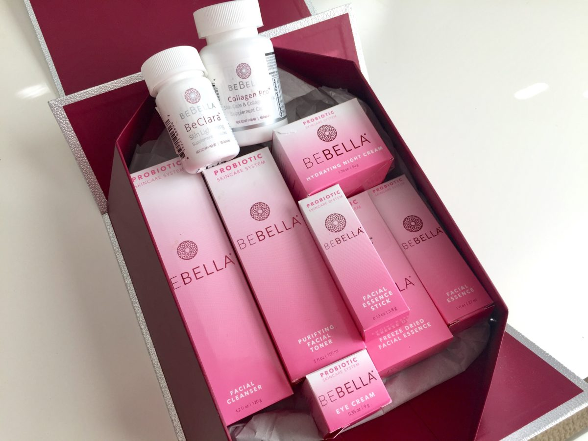 probiotic skincare BeBella benefits of box