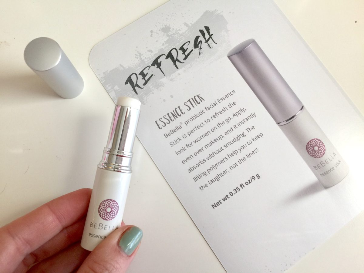 probiotic skincare Bebella facial essence stick over 30 beauty blog jennysuemakeup