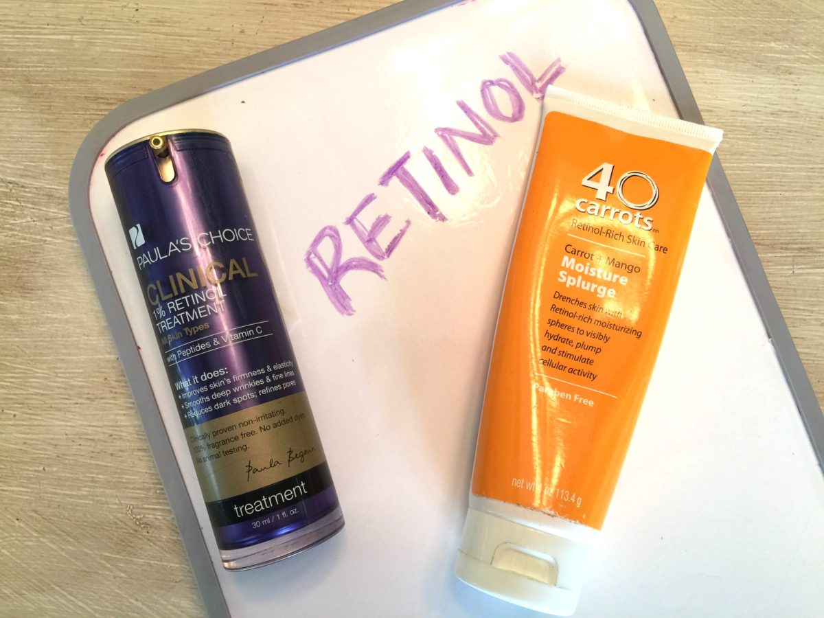 anti-aging ingredients retinol over 30 beauty blogger jennysuemakeup