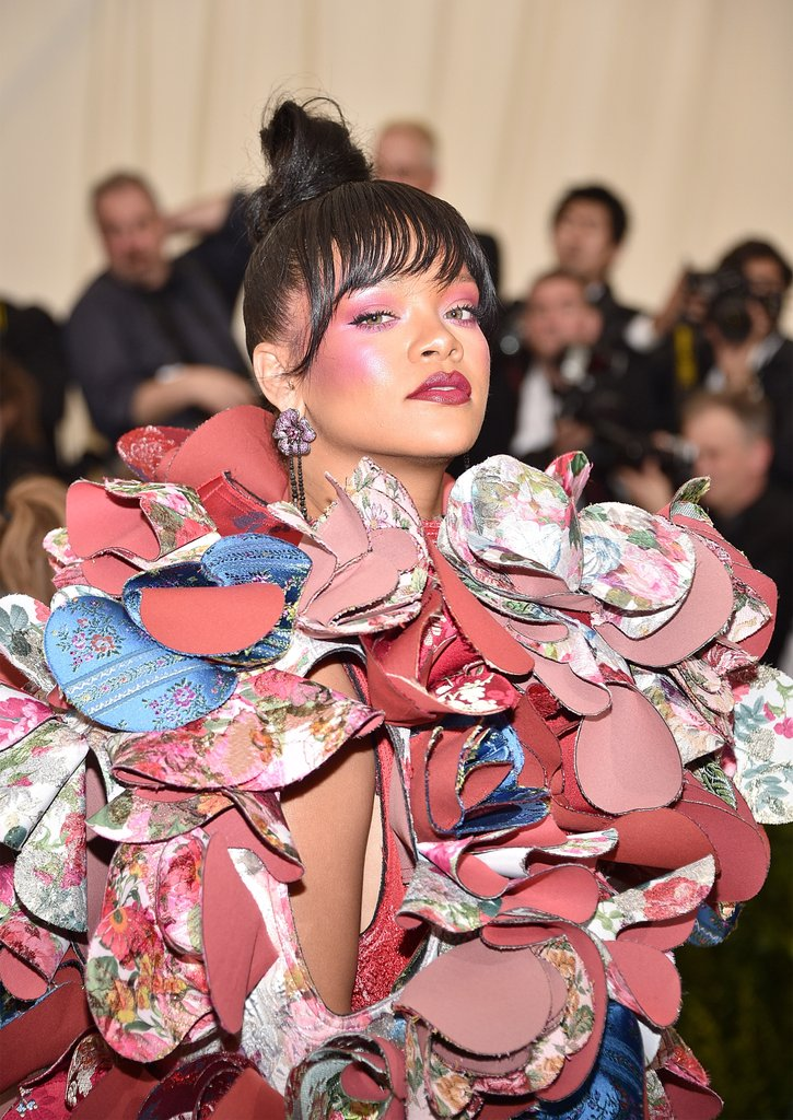 Rihanna-met-gala-makeup