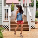 A Girly Spin On The Chambray Shirt