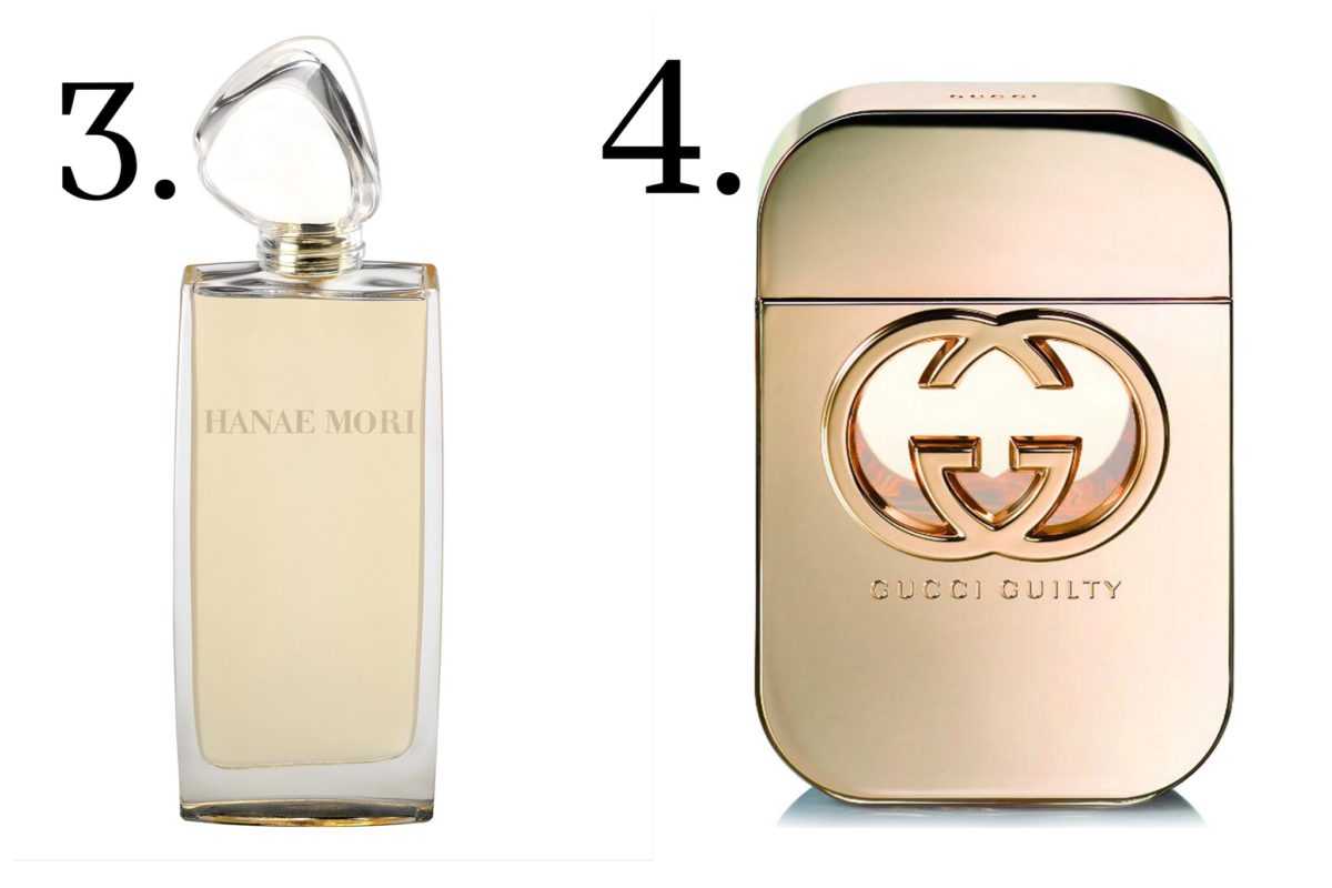 signature fragrances how to wear them gucci guilty hanae mori