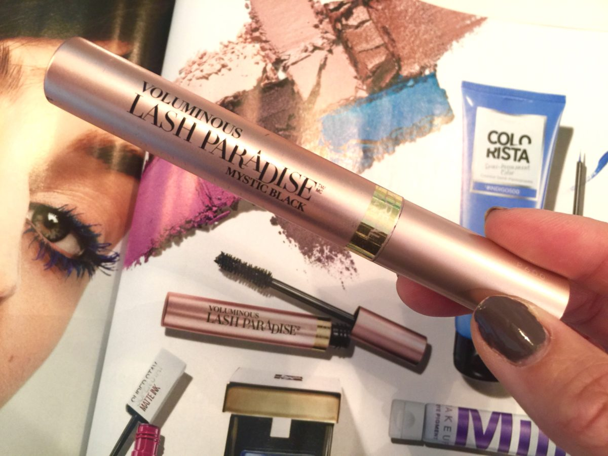 loreal voluminous lash paradise mascara review