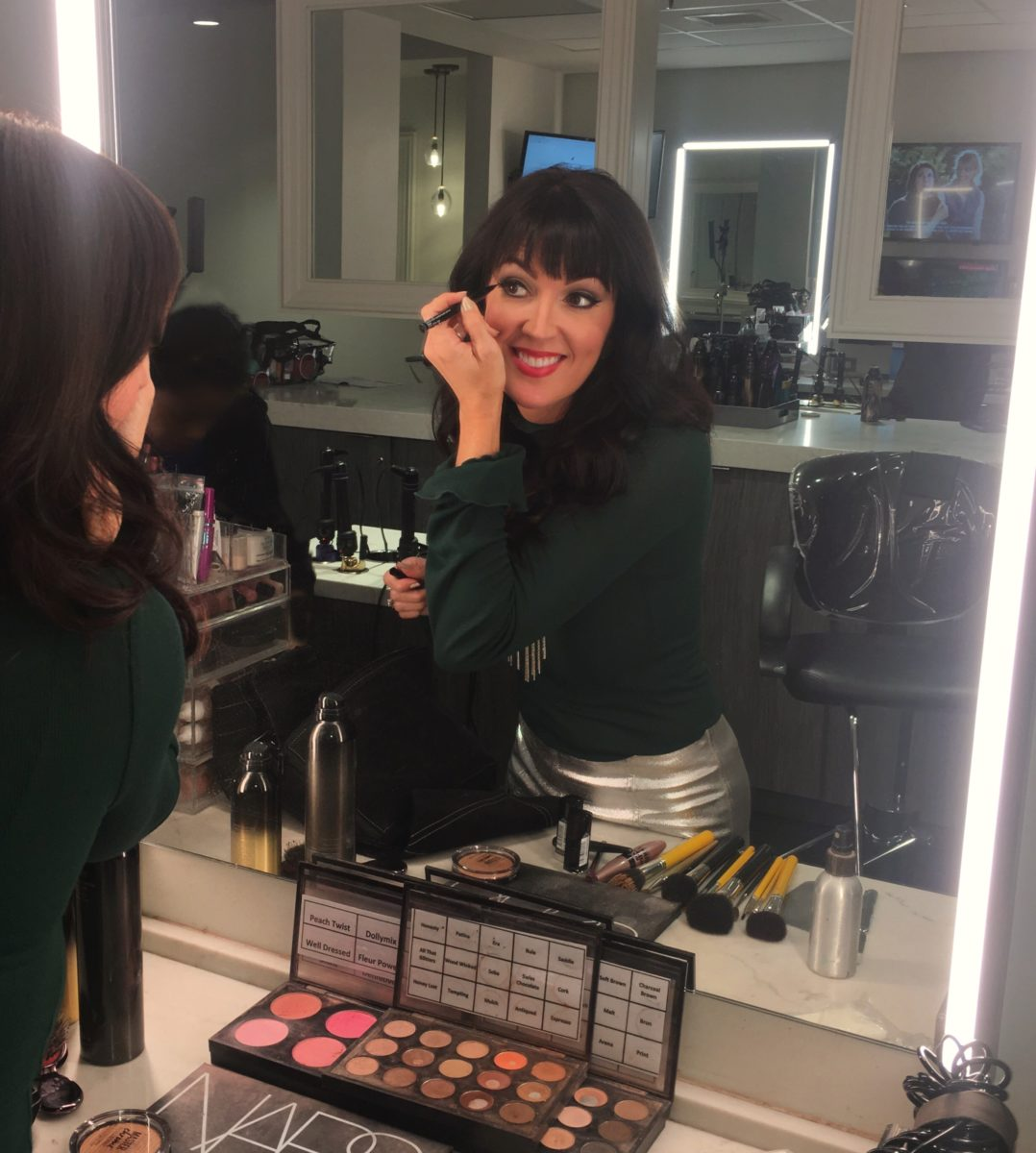 national TV debut beauty CNN beauty blogger Jennifer Duvall JennySue Makeup